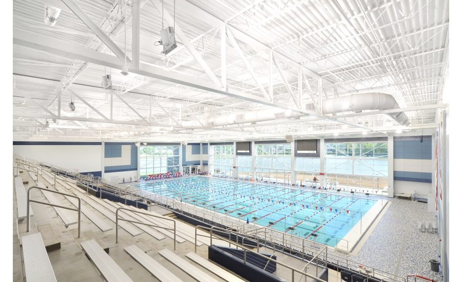 Metl-Span IMPs Offer Energy Efficiency, Splash of Color to Aquatics Center