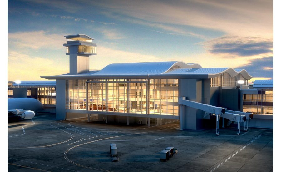 Atlas Helps Meet Tough Building Codes in Construction of Concourse at LAX