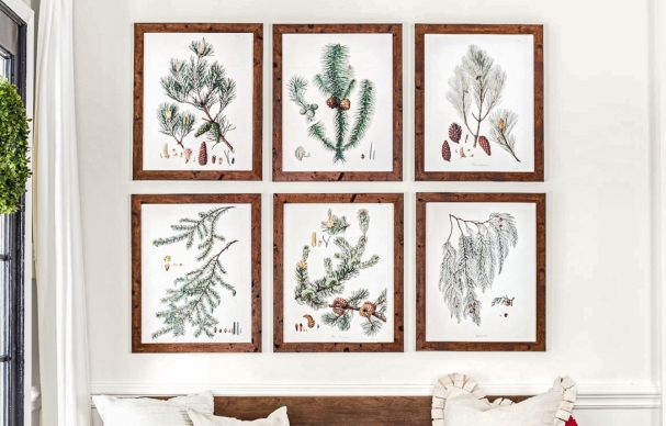 Create the Perfect Gallery Wall for Winter
