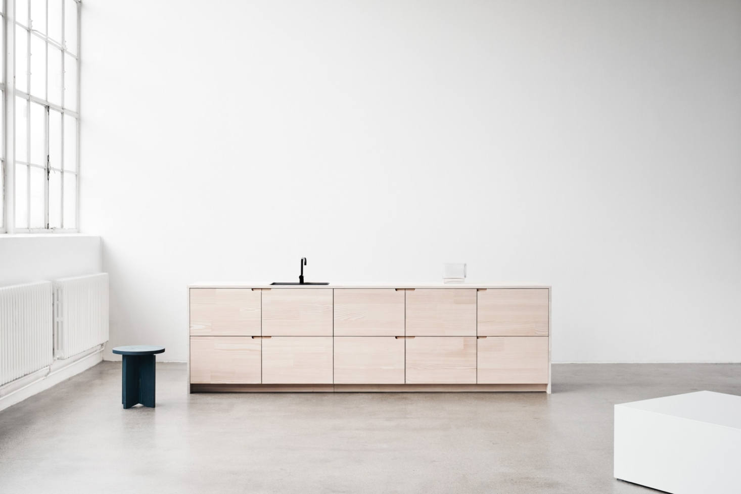 From Reform: A New Line of Ikea Cabinet Fronts Made with Dinesen Wood