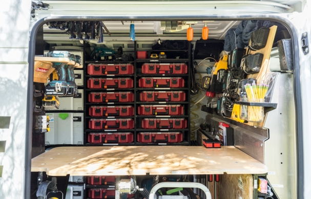 7 Rules For Organizing Your Work Van