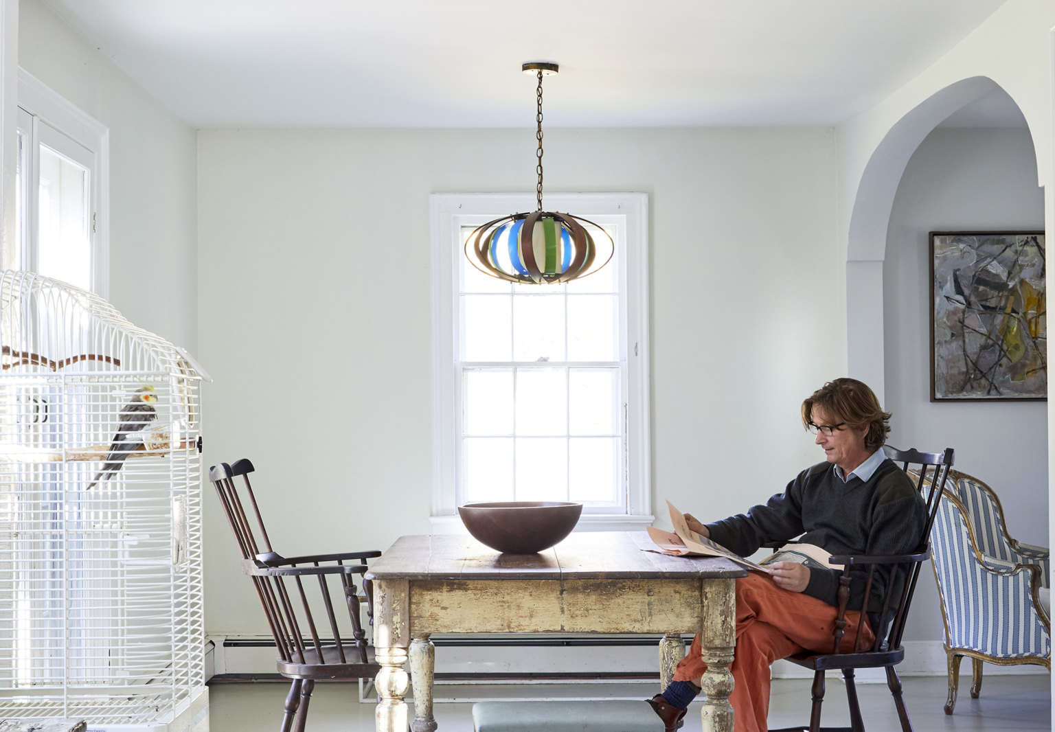 Farmhouse Refresh: An Antiques Dealer's Clean and Simple Family Retreat on Shelter Island