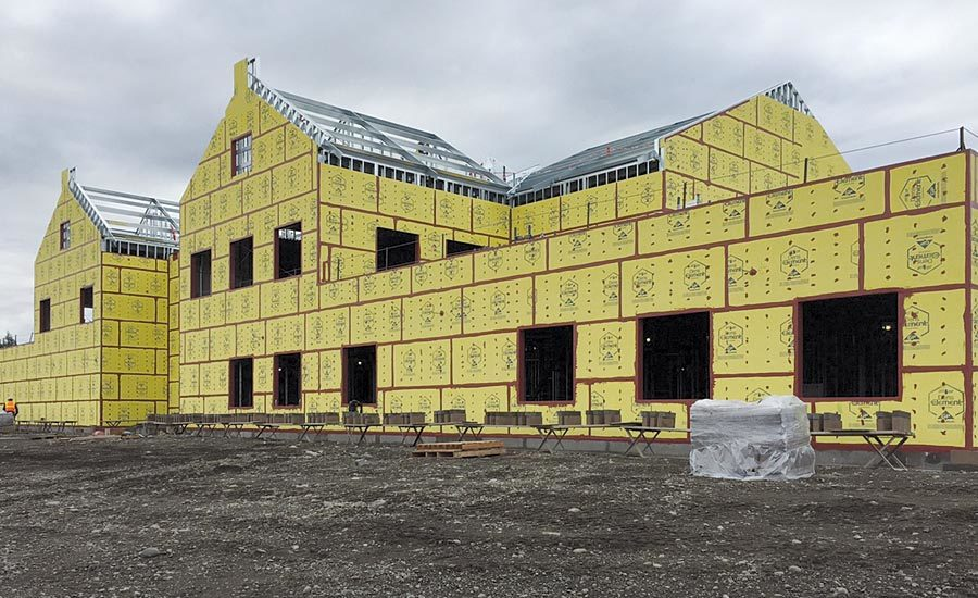 A Building Envelope for Cold Weather