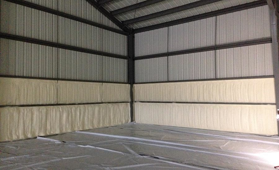 Hybrid Mixed-Use Commercial Facility & Residence with Spray Foam