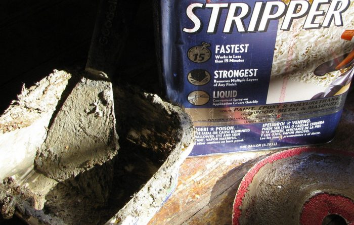EPA Bans Paint Strippers Containing Methylene Chloride