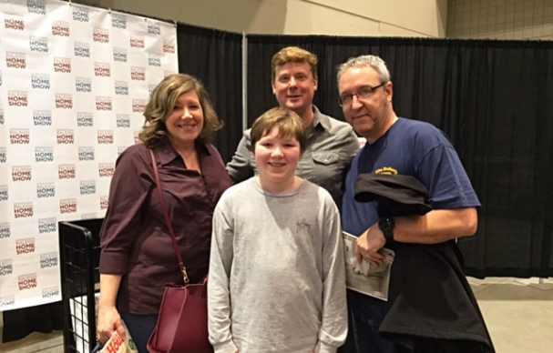 Insider's proud moment: Meeting Kevin O'Connor!