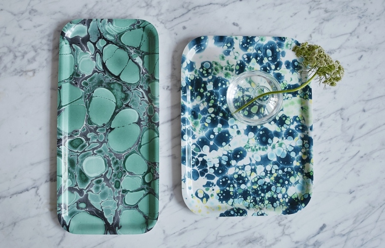 Object of Desire: Studio Formata Marbleized Trays