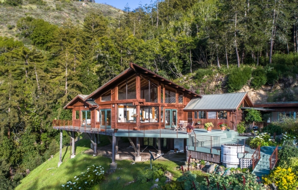 From an Old Miner's Cabin to Beautiful Home in Big Sur | FOR SALE
