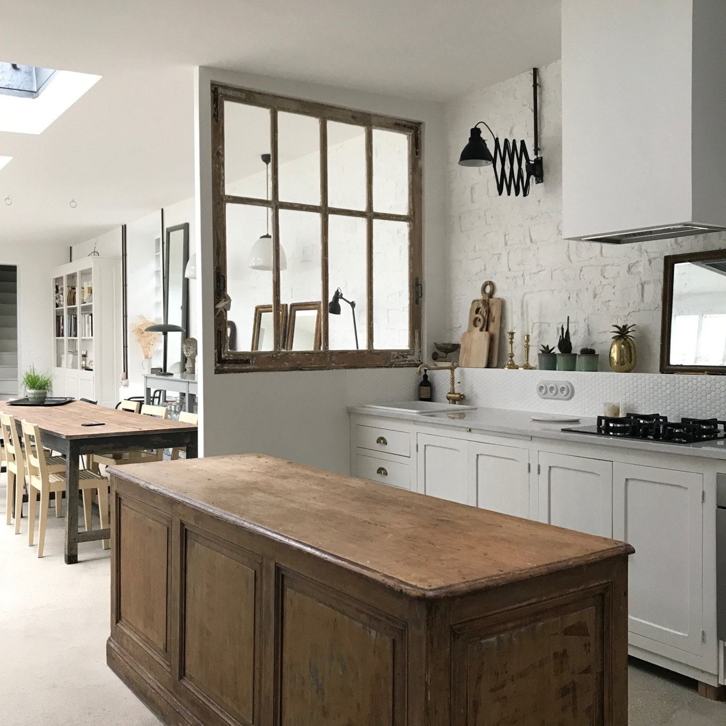 "Kitchen of the Week: ""Preserving the Spirit of the Old"" in Reims, France"