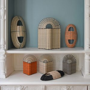 Summery Rattan Lighting from Colonel in Paris