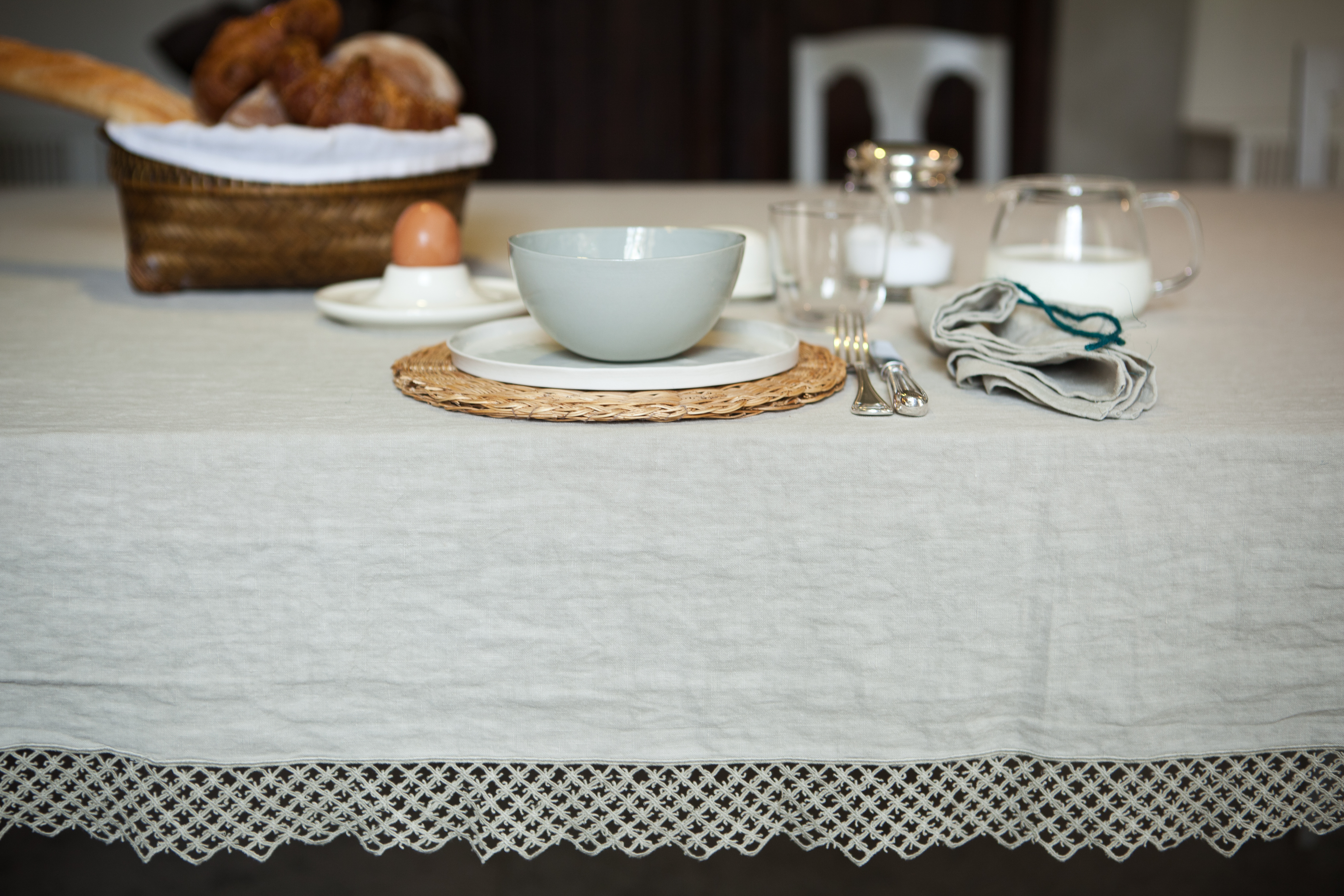 Object of Desire: New Summery Table Linens from Once Milano