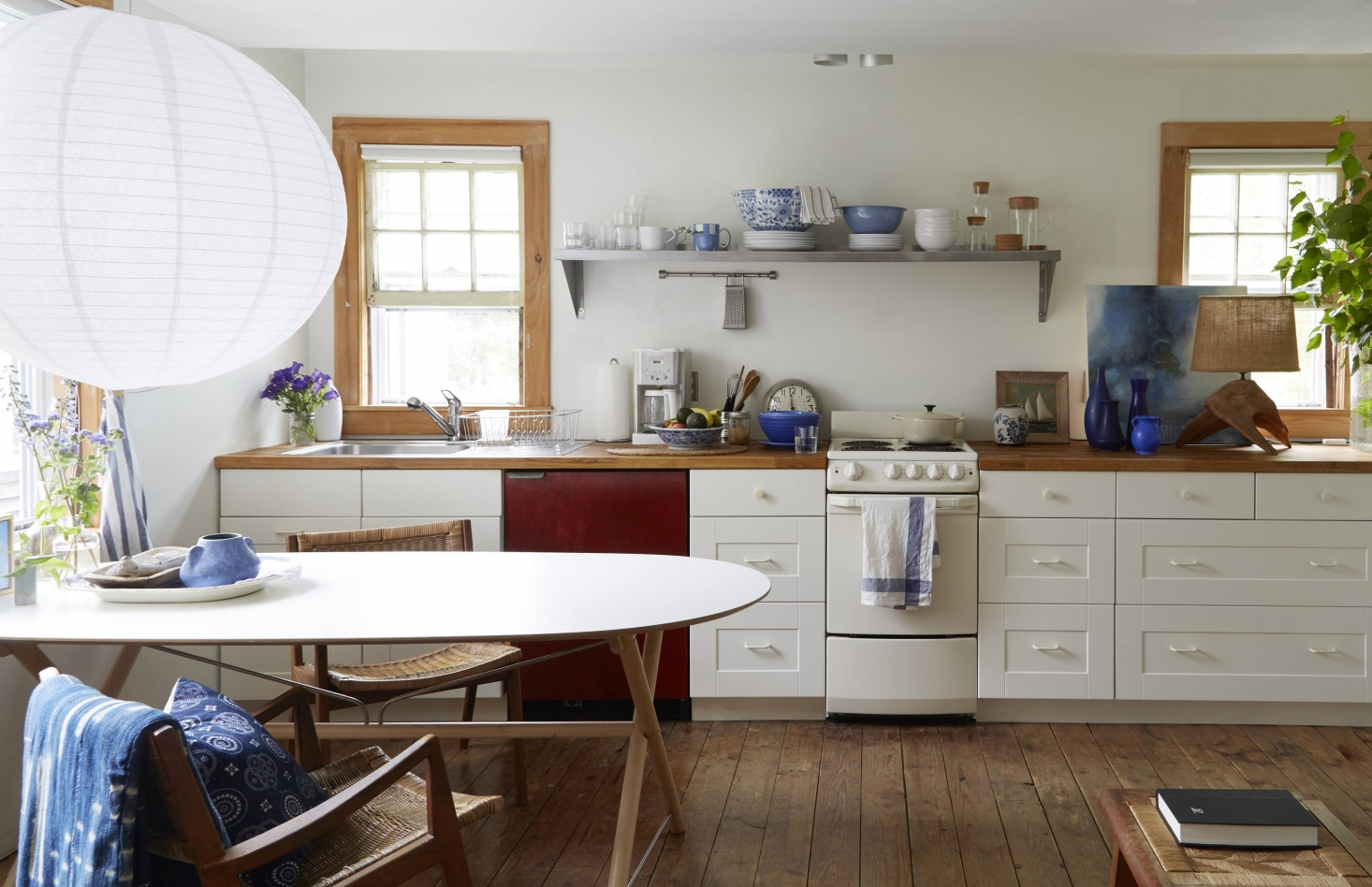 Steal This Look: A Beach Cottage Kitchen, Starring Ikea