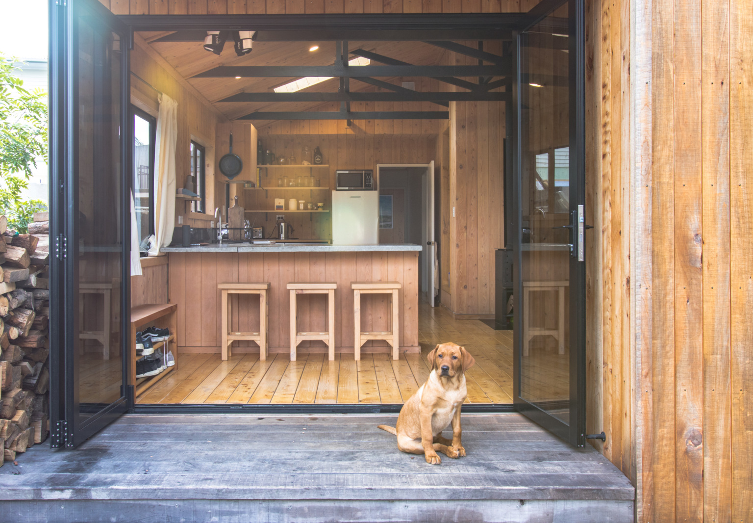 The DIY Makeover: George and Willy's Urban Cabin (Created from a Tiny 1991 Suburban House)