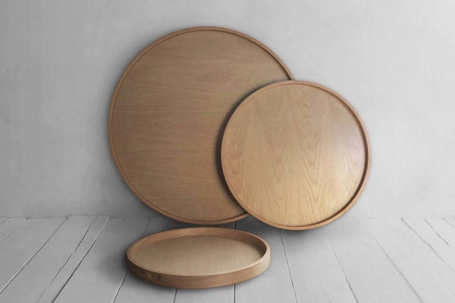 10 Easy Pieces: Round Wood Trays