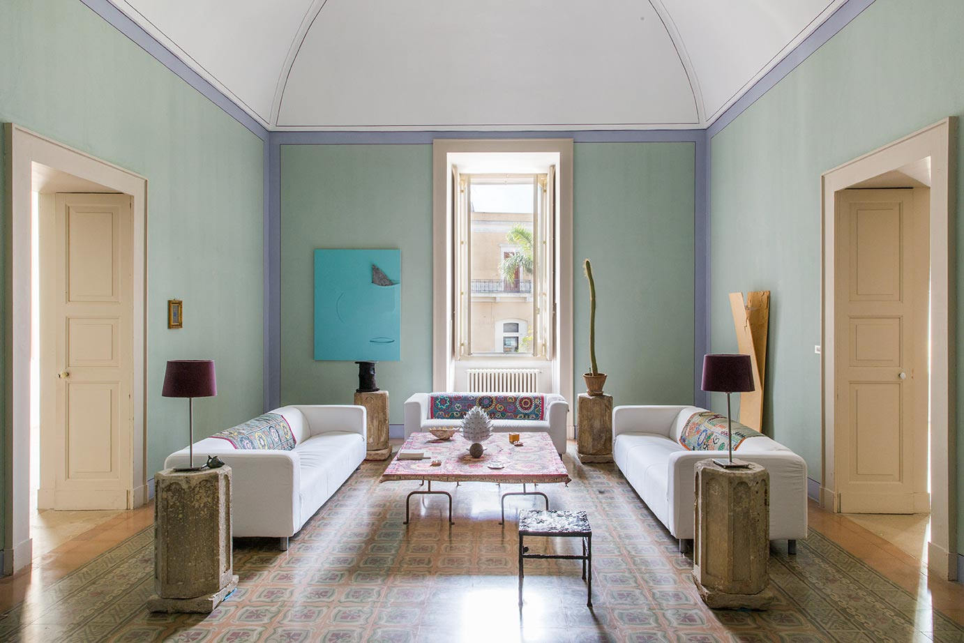 Inspired by Absence: Art and Old-World Architecture at Hotel Palazzo Daniele in Italy