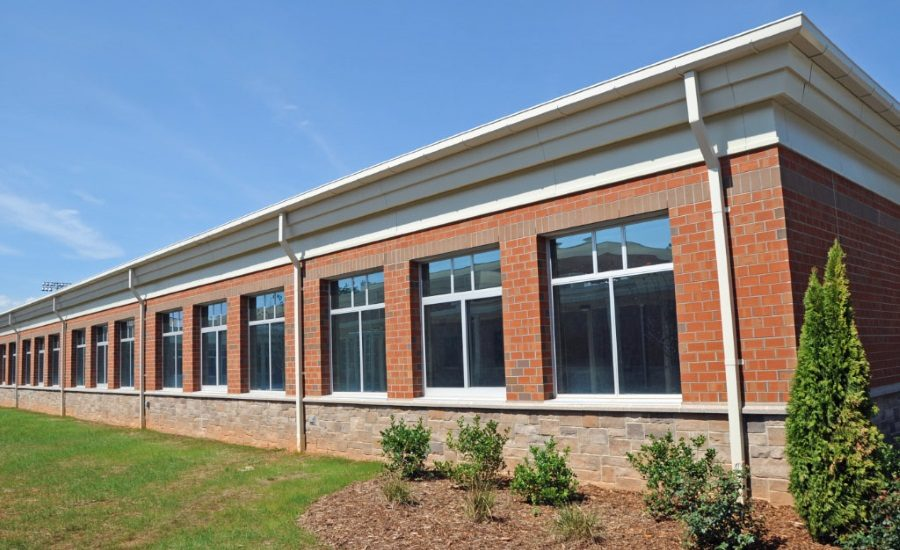 Three Echelon Masonry Products Blend to Create Modern New Look