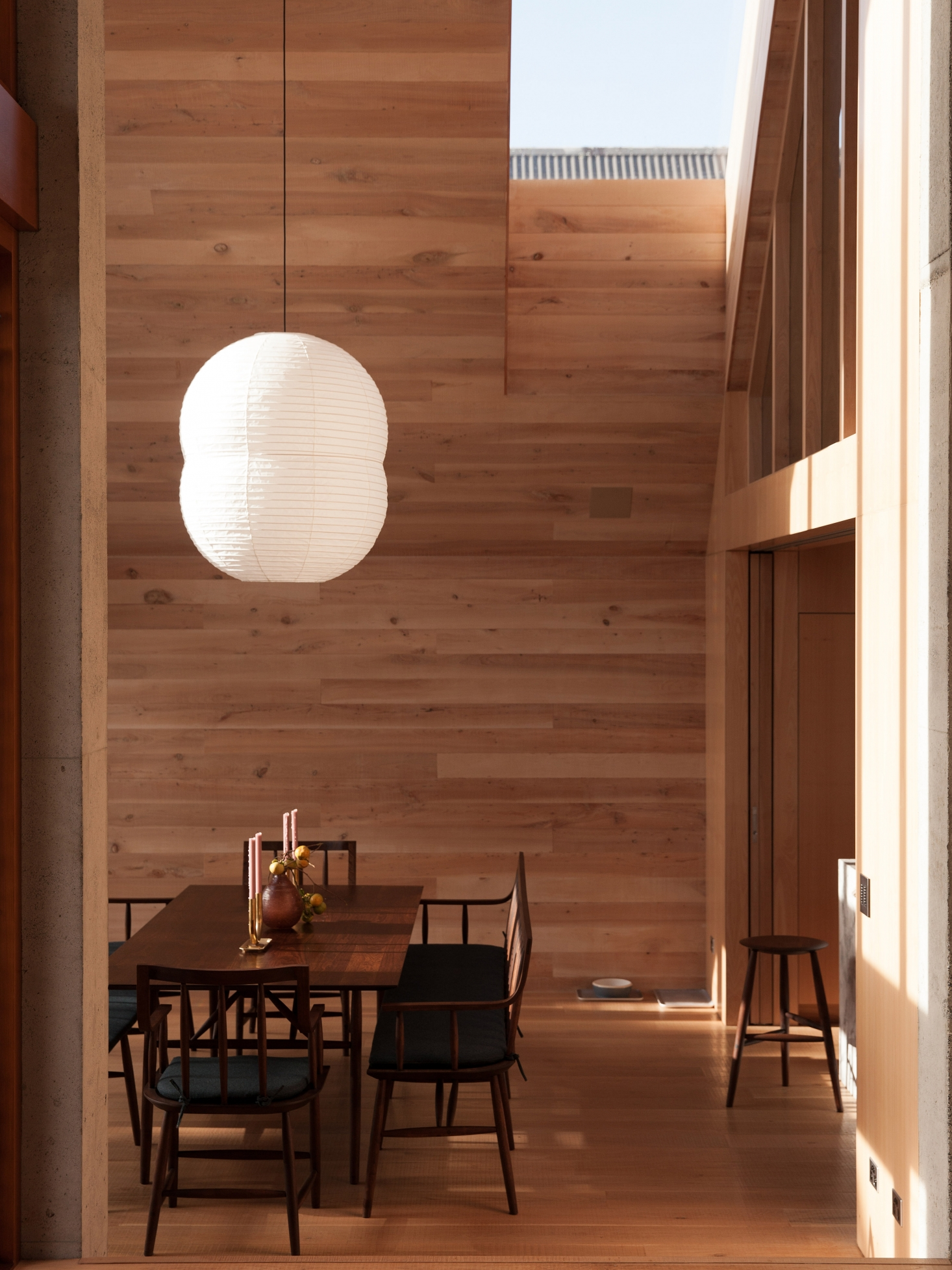 A Soulful, Monastic House in New Zealand, Japanese-Shaker Style Included