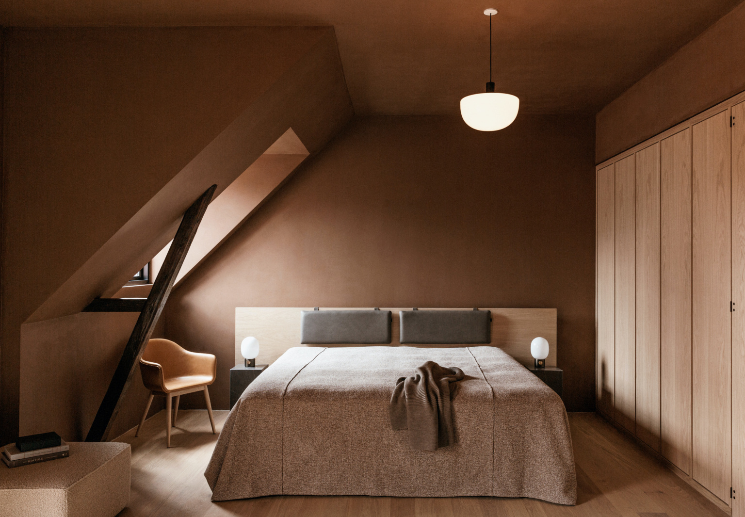Copenhagen Clubhouse The Audo: A New Creative Hub with Guest Rooms Under the Rafters