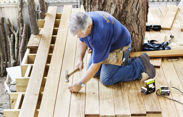 How to Attach a Deck to a House