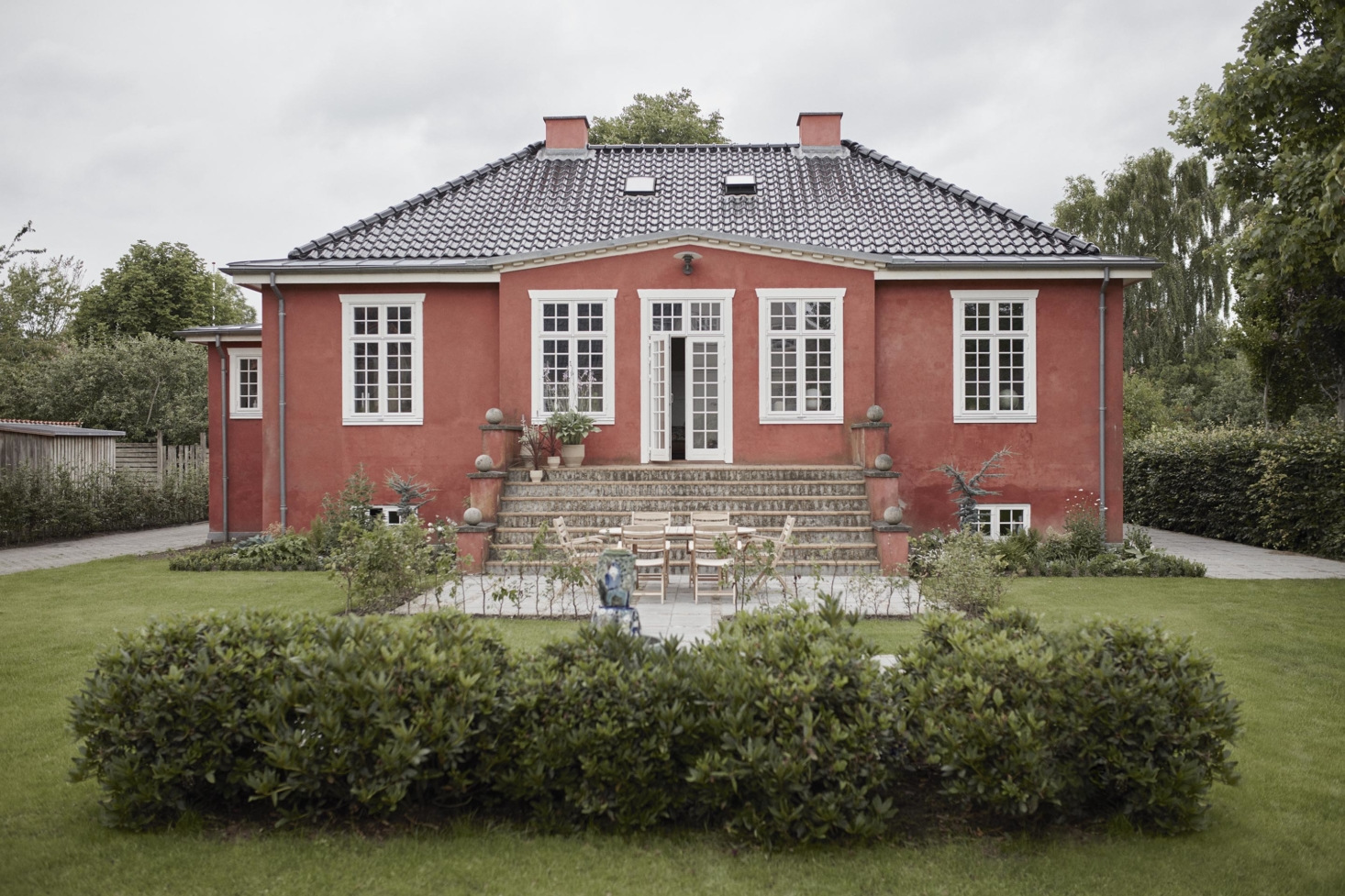 Little Pink House: A Creative Couple's Classic-with-a-Twist Home in Denmark