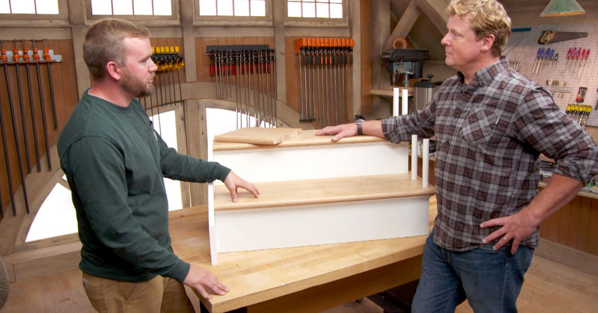 How to Refinish Worn Out Stair Treads