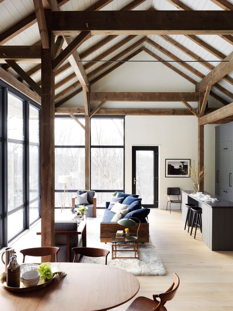 Architect Visit: A Barn-Style House for the Future, Hudson Valley Edition