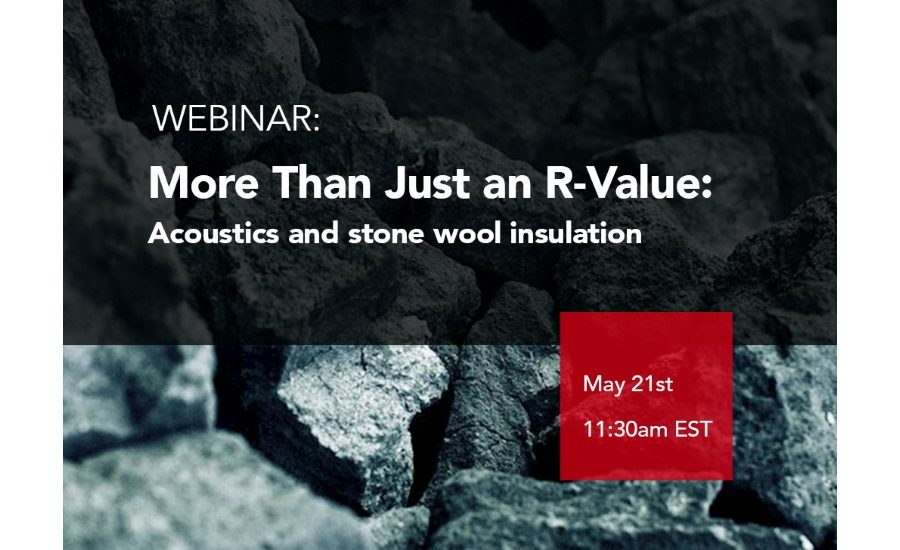 CEU Webinar: Looking to Learn More About Acoustics and Stone Wool Insulation?