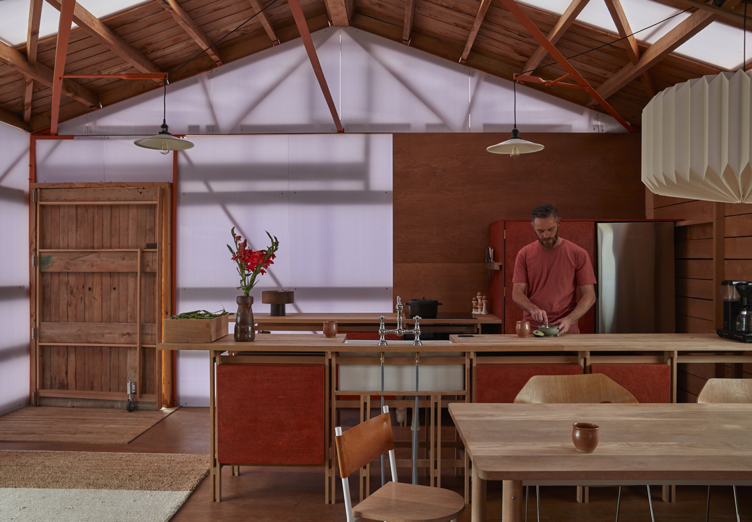 Rehab Diary: Architect Ben Daly and Family at Home in a Converted Sheep Shed