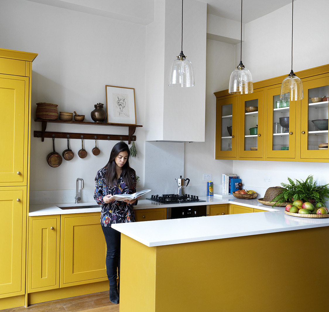 A London Designer's Apartment Remodel for a Demanding Client (Her Mother)