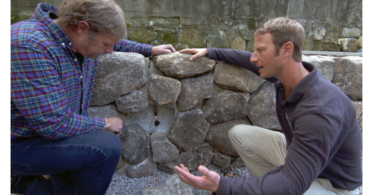 How to Build a Prefab Stone Wall