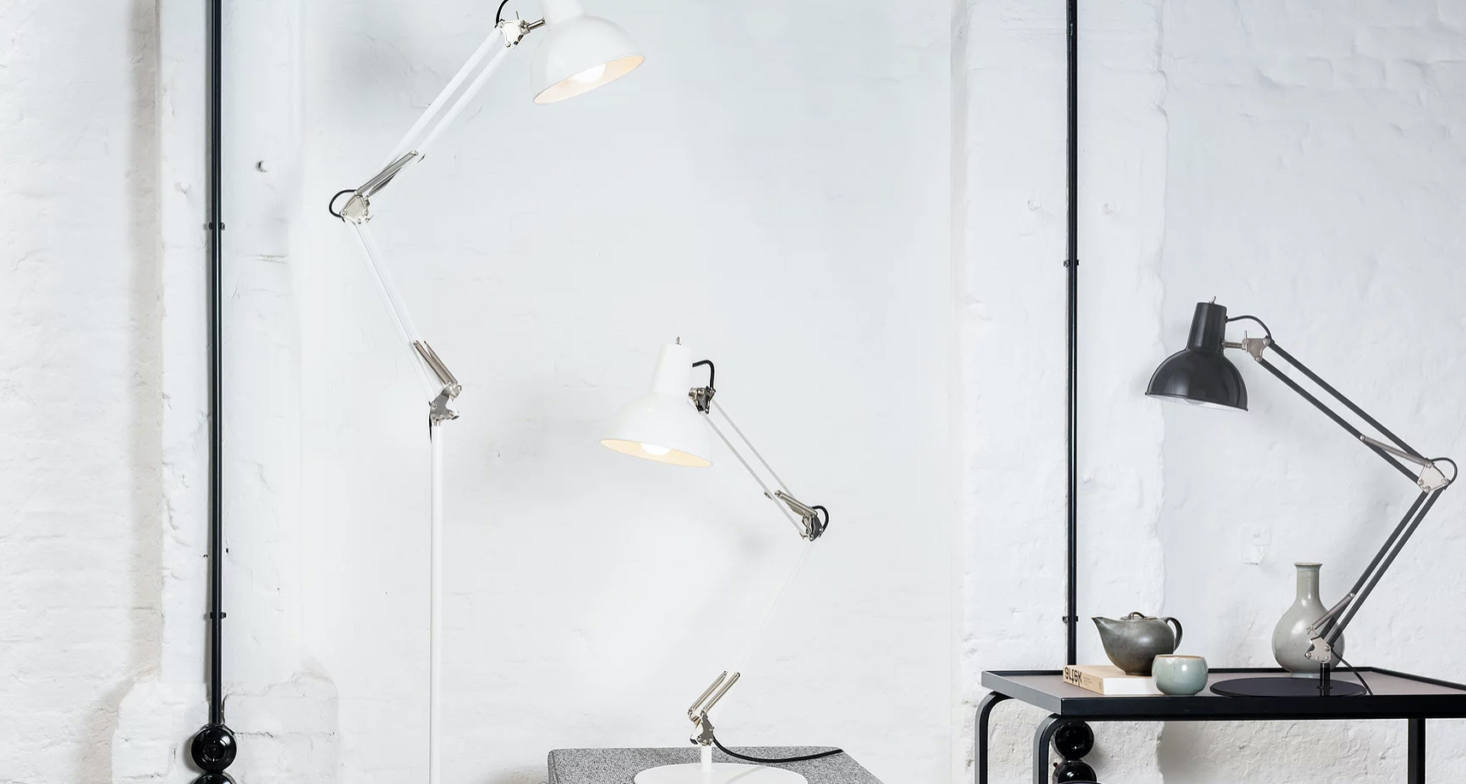 Modern, Sleek, and Functional: Classic Mid Century Lamps from Germany