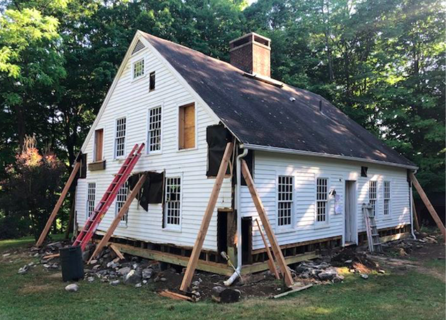 The BS* + Beer Show: Deep-Energy Retrofit of an Old Timber-Frame House