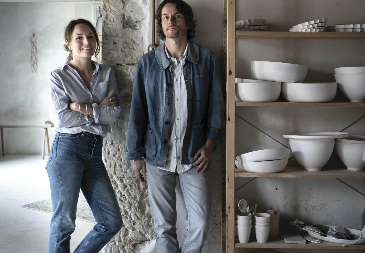 Creative Compound: A Ceramic Artist Couple at Home and Work in the French Countryside