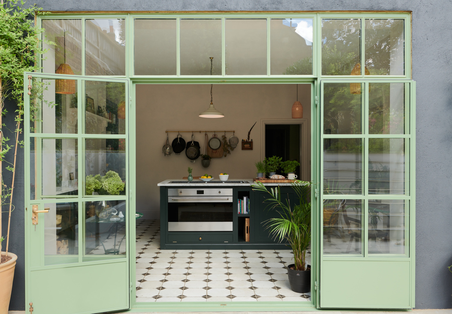 Kitchen of the Week: 'Wes Anderson Meets Provencal' in West London