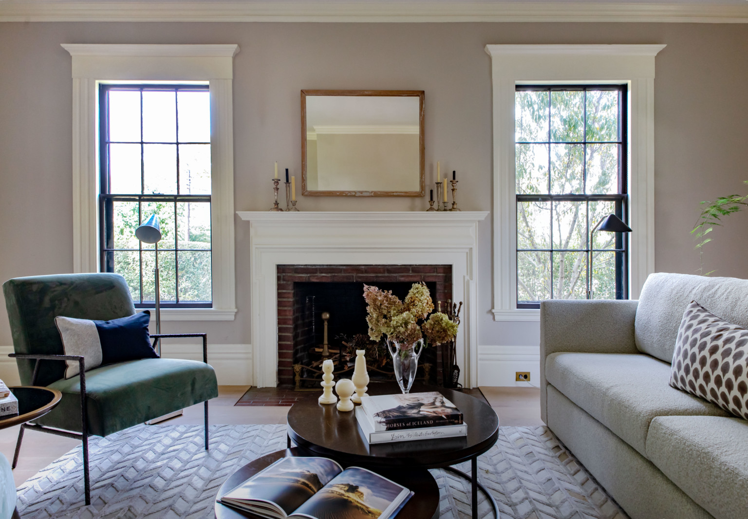 Staying In: A Remodelista Living Room, Styled with Mitchell Gold + Bob Williams