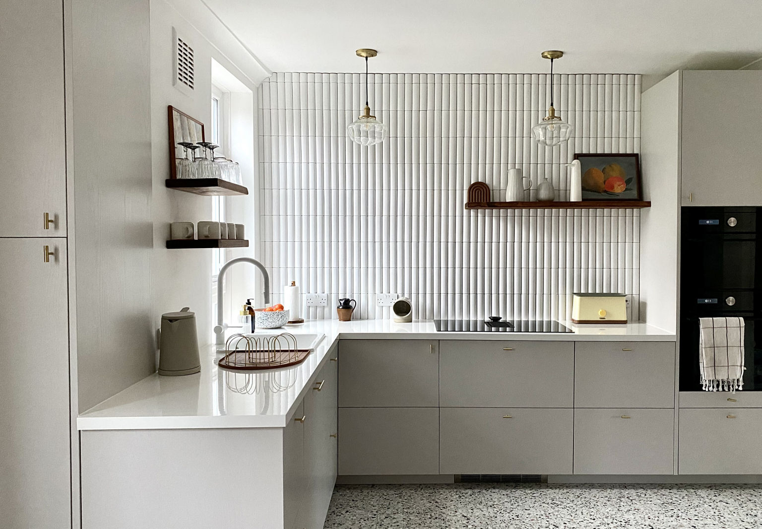 Kitchen of the Week: An American In London Creates Her Dream Ikea Hack Kitchen