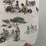 Harlem Toile de Jouy (and More) by Sheila Bridges for The Shade Store