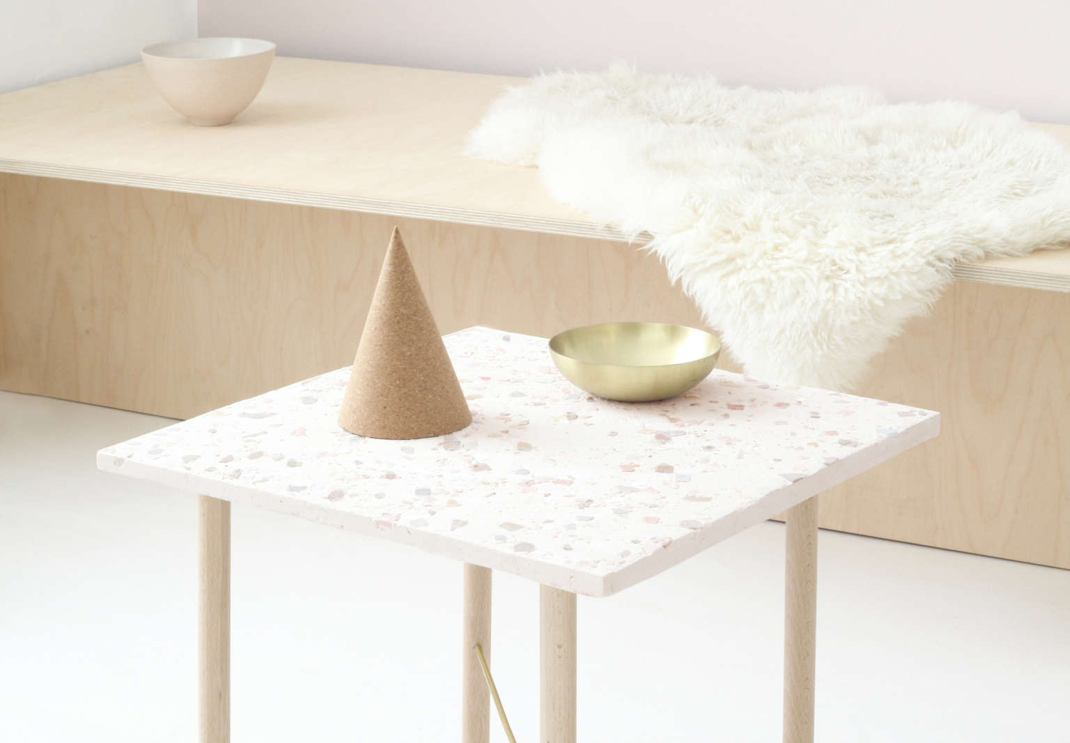 DIY: A Homemade Terrazzo Table by Heju of Paris