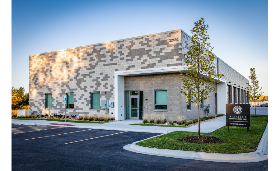 Echelon InsulTech System Brings Durability, Longevity and Modern Farmland Appeal to Will County EMA Building