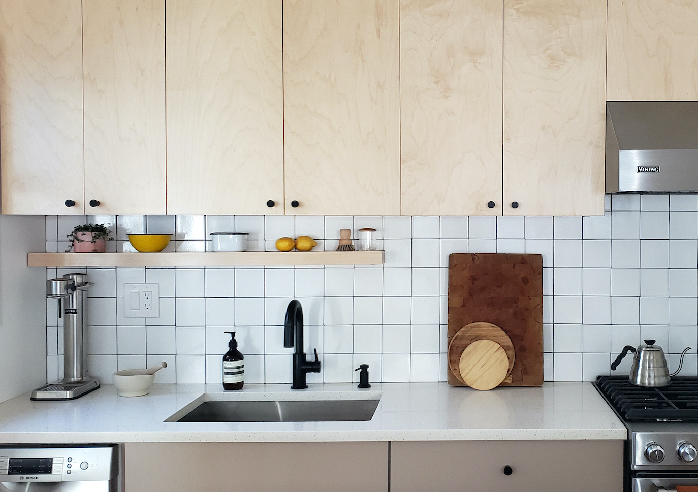 Rehab Diary: A Dated Kitchen Gets a Modern Upgrade in Maplewood, NJ
