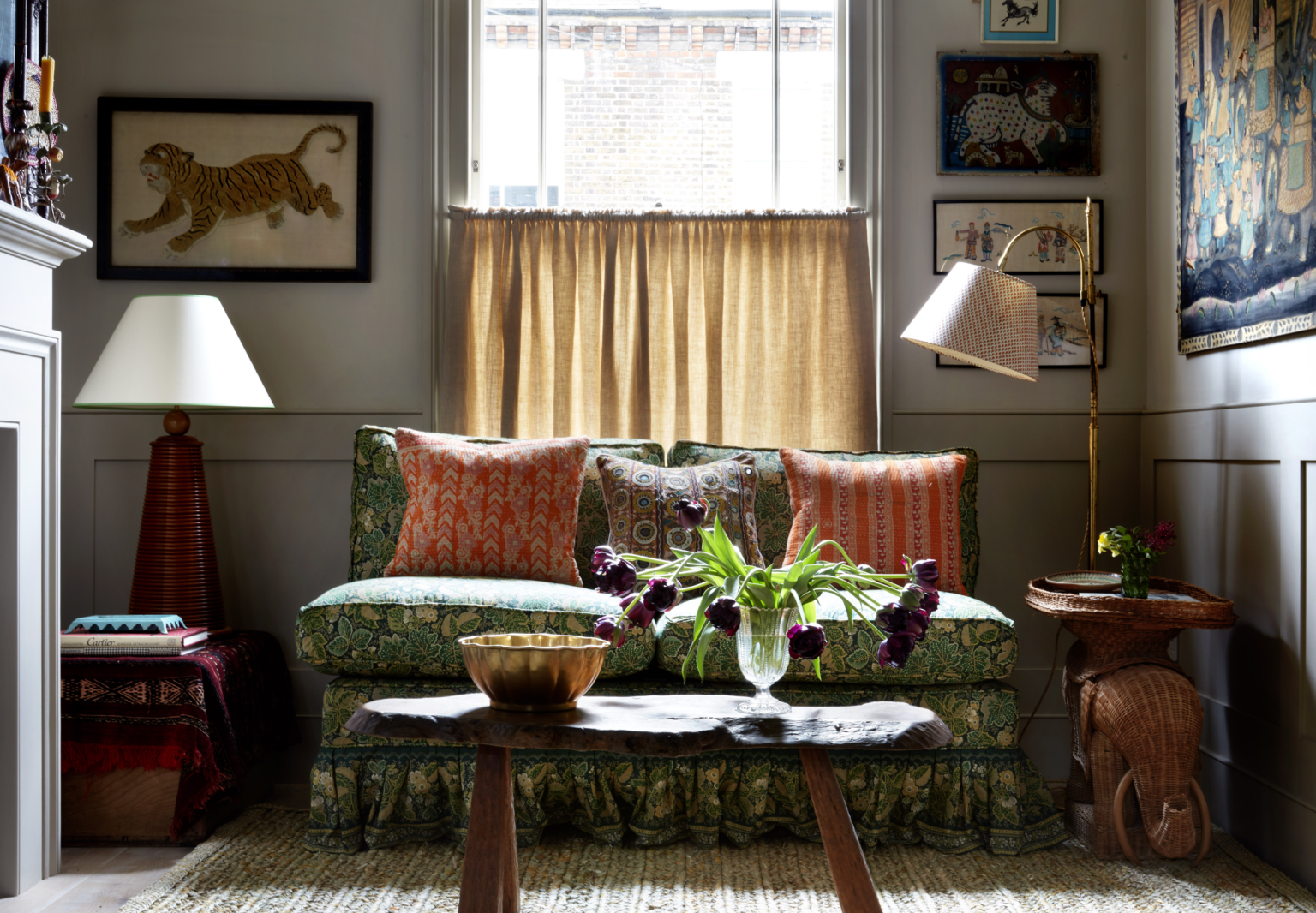 The Case for Cozy: Designer Lonika Chande's Family Cottage in West London
