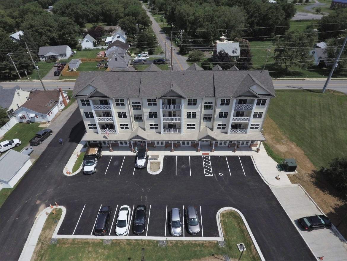Eastern Shore of Md. First Multi-Story Multi-Use Commercial Building Constructed from ICF Complete