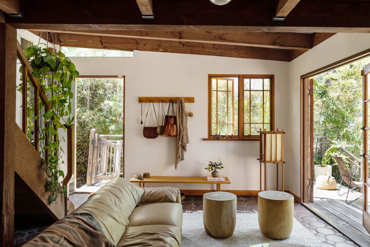Before and After: A Summery Bungalow in Topanga, California, Redone by an LA Designer