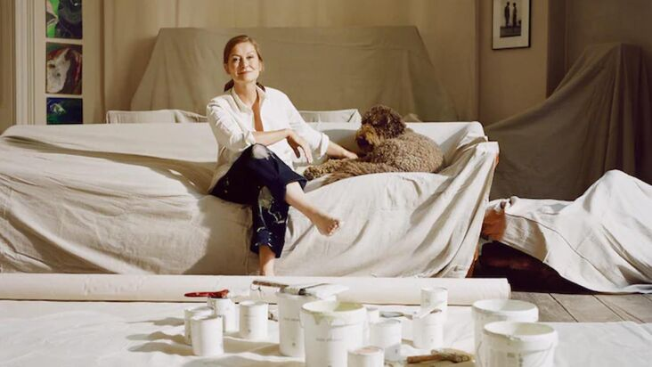 A New, Natural Paint Line from Rose Uniacke in Shades of Pale
