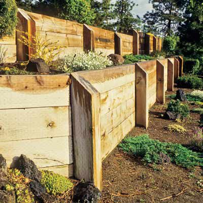 Types of Retaining Wall Materials