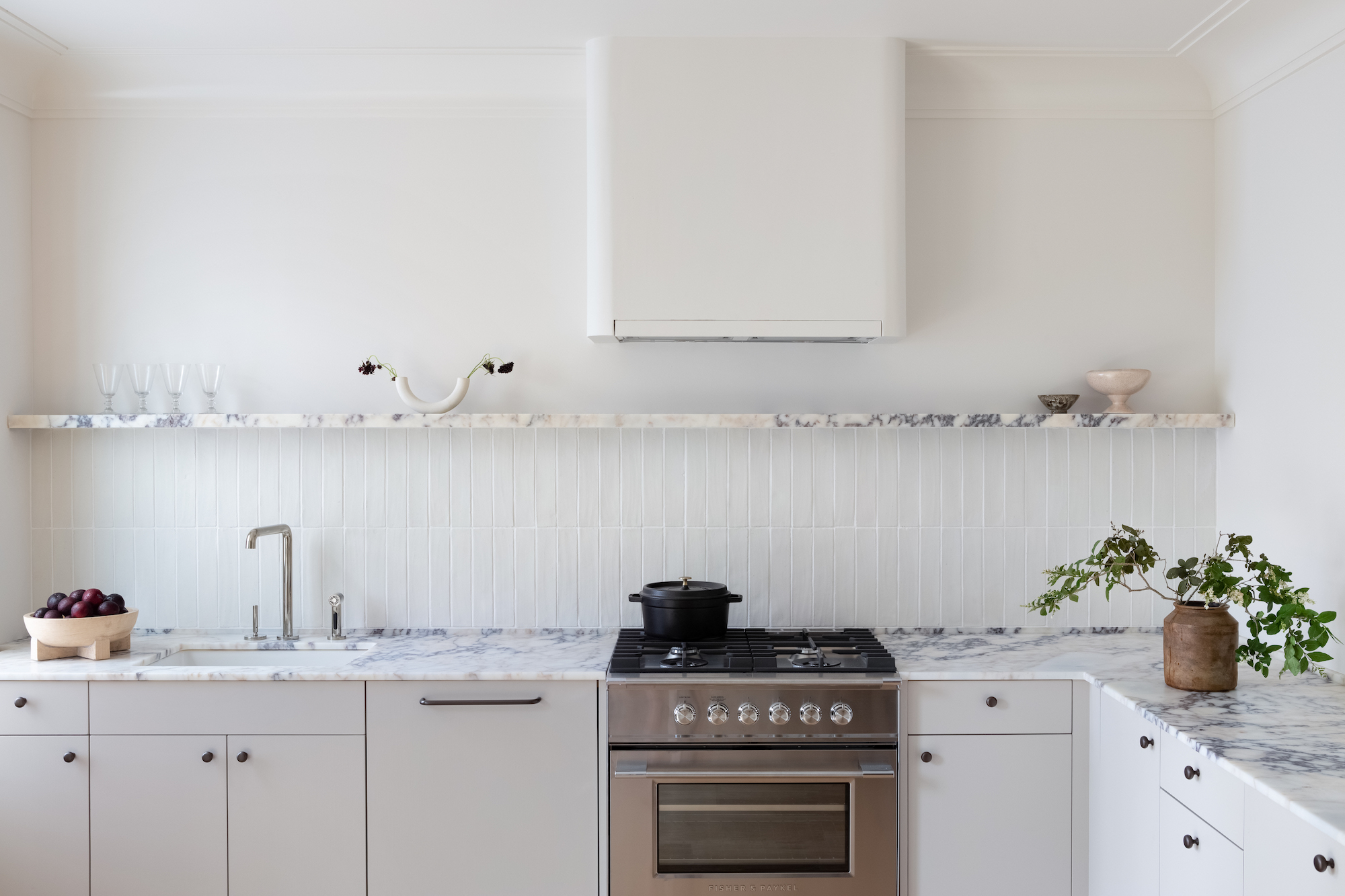 Steal This Look: A Neutral Kitchen in Brooklyn with Lasting Style